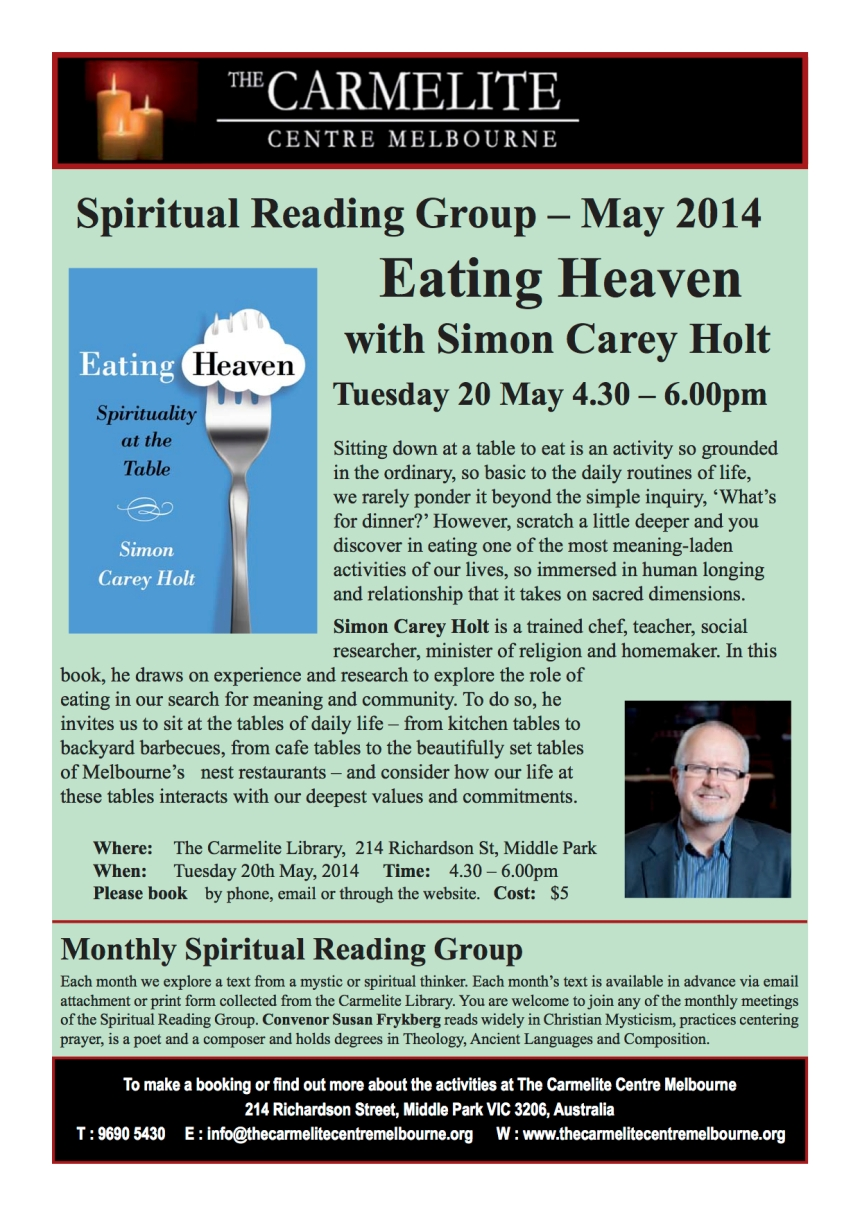 May 2014 Spiritual Reading flyer 1004