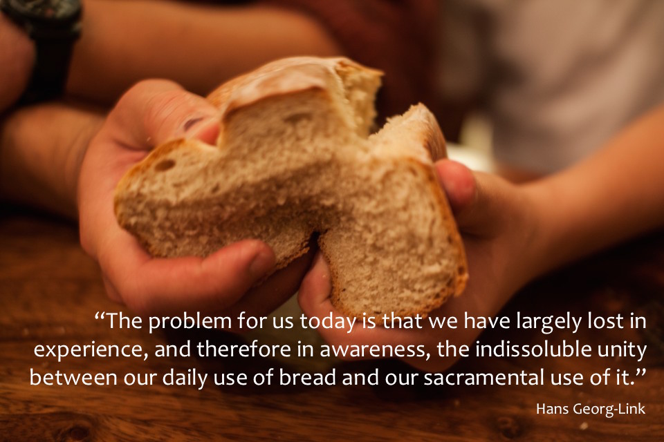Link on bread and sacrament – EATING HEAVEN